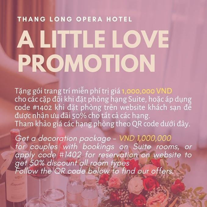 a little love promotion